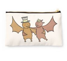Dancing Bat Couple Studio Pouch