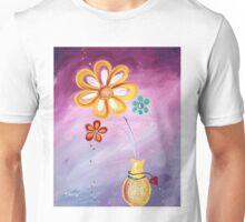 Happy Me - Flower Art by Valentina Miletic Unisex T-Shirt