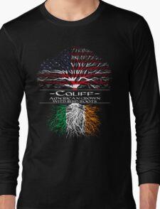 Califf - American Grown with Irish Roots Long Sleeve T-Shirt