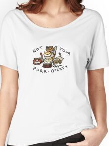 Not Your Purr-operty! Women's Relaxed Fit T-Shirt