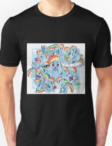 Every Rainbow Dash EVER T-Shirt