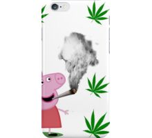 Peppa Pig 420 iPhone Case/Skin