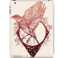 Fleeing Bird iPad Case/Skin