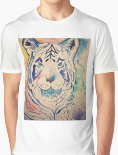 Tiger Splash Graphic T-Shirt