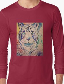 Tiger Splash Long Sleeve T-Shirt