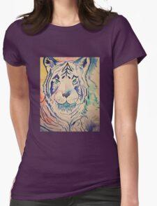 Tiger Splash Womens Fitted T-Shirt