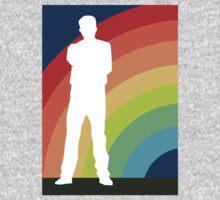 big gay rainbow One Piece - Long Sleeve
