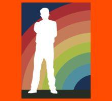 big gay rainbow Kids Tee