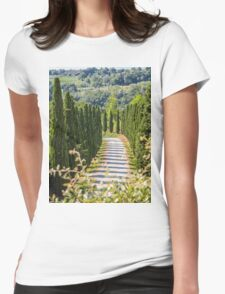 San Gimignano! Womens Fitted T-Shirt