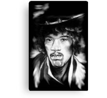 Jimmy in Black and White Canvas Print