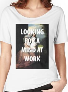 A MIND AT WORK Women's Relaxed Fit T-Shirt