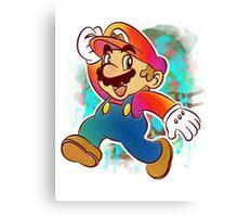 Mario Wahoo Canvas Print