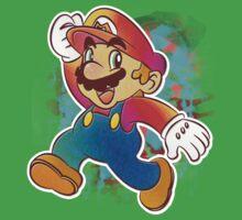 Mario Wahoo Baby Tee