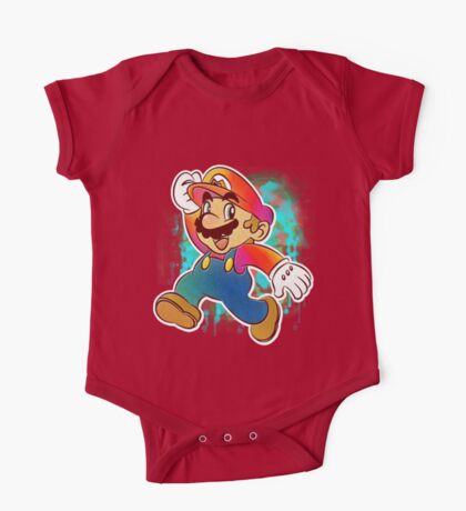 Mario Wahoo One Piece - Short Sleeve