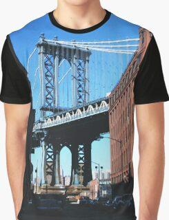 Manhattan Bridge, NYC Graphic T-Shirt