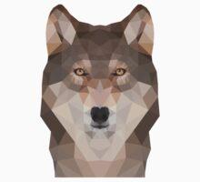 Geometric Wolf One Piece - Short Sleeve