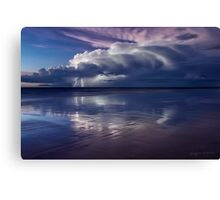 Cable Beach Lightning Canvas Print