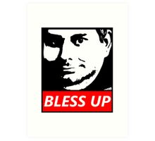 OBEY H3H3 Bless Up Art Print