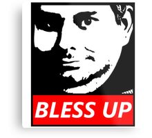 OBEY H3H3 Bless Up Metal Print