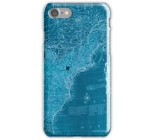 American Revolutionary War Era Maps 1750-1786 352 Bowles's new pocket map of the United States of America the British possessions of Canada Nova Scotia and Inverted iPhone Case/Skin