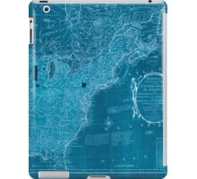 American Revolutionary War Era Maps 1750-1786 352 Bowles's new pocket map of the United States of America the British possessions of Canada Nova Scotia and Inverted iPad Case/Skin