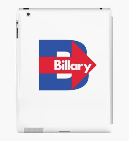 Hillary / Billary Logo Parody iPad Case/Skin