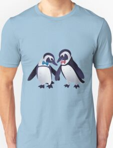 Dapper Penguins Unisex T-Shirt