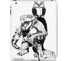 Snapping Turtle and Owl iPad Case/Skin