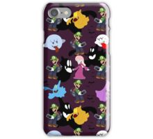 Luigi's Mansion Pattern iPhone Case/Skin