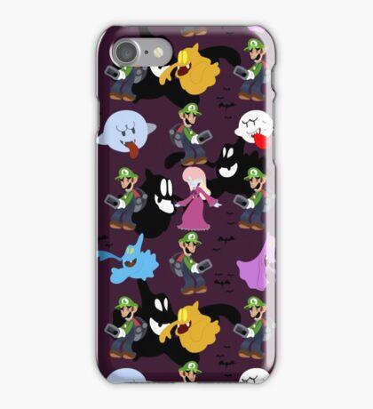Luigi's Mansion Pattern iPhone Case/Skin