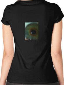 Eye see you  Women's Fitted Scoop T-Shirt