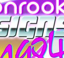 Ebonrook Designs 1984 Sticker