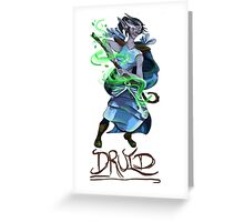 Druid Greeting Card