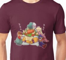 Bowser Mario Mallow Peach and Geno Unisex T-Shirt