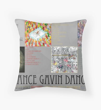 Dance Gavin Dance Discography  Throw Pillow