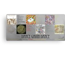 Dance Gavin Dance Discography  Canvas Print