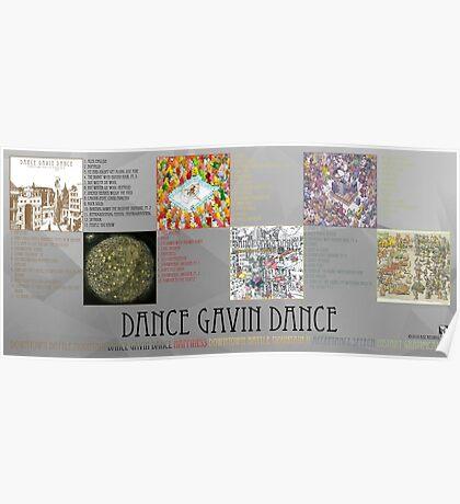 Dance Gavin Dance Discography  Poster