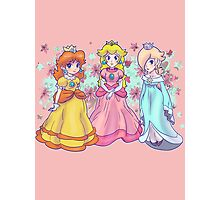 Princess Peach, Daisy and Rosalina Photographic Print