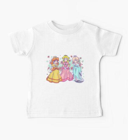 Princess Peach, Daisy and Rosalina Baby Tee