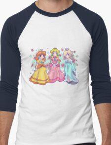 Princess Peach, Daisy and Rosalina Men's Baseball ¾ T-Shirt