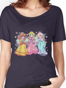 Princess Peach, Daisy and Rosalina Women's Relaxed Fit T-Shirt