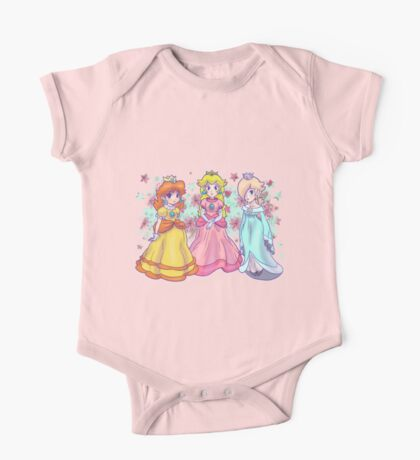 Princess Peach, Daisy and Rosalina One Piece - Short Sleeve