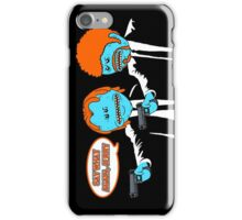 Mr. Meeseeks - Pulp Fiction parody iPhone Case/Skin