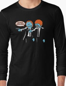 Mr. Meeseeks - Pulp Fiction parody Long Sleeve T-Shirt