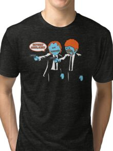 Mr. Meeseeks - Pulp Fiction parody Tri-blend T-Shirt