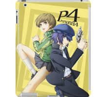 chie and naoto, persona 4 iPad Case/Skin