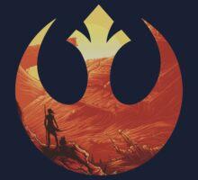 Star Wars VII - BB8 & Rey Kids Tee