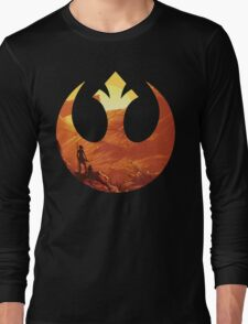 Star Wars VII - BB8 & Rey Long Sleeve T-Shirt