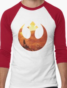Star Wars VII - BB8 & Rey Men's Baseball ¾ T-Shirt