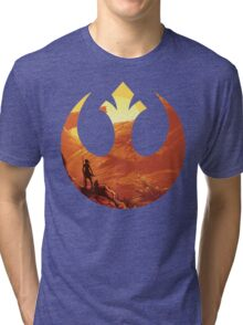 Star Wars VII - BB8 & Rey Tri-blend T-Shirt
